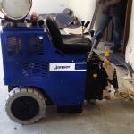 Maschinelle Fußbodenentfernung